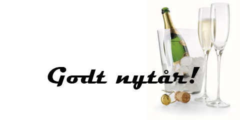Champagne og vin til nytrsfesten