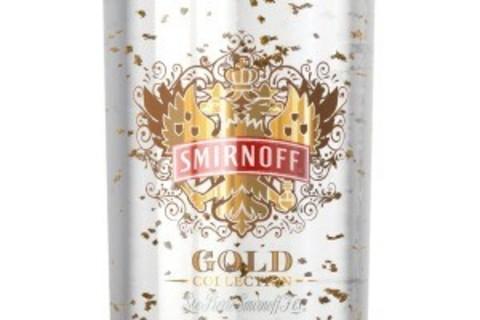 Vodka med 23karat guld er kommet til Danmark!