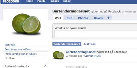 Bartendermagasinet på Facebook