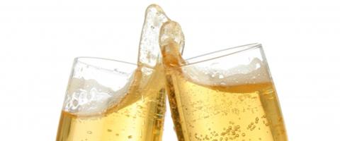 Drinks med champagne